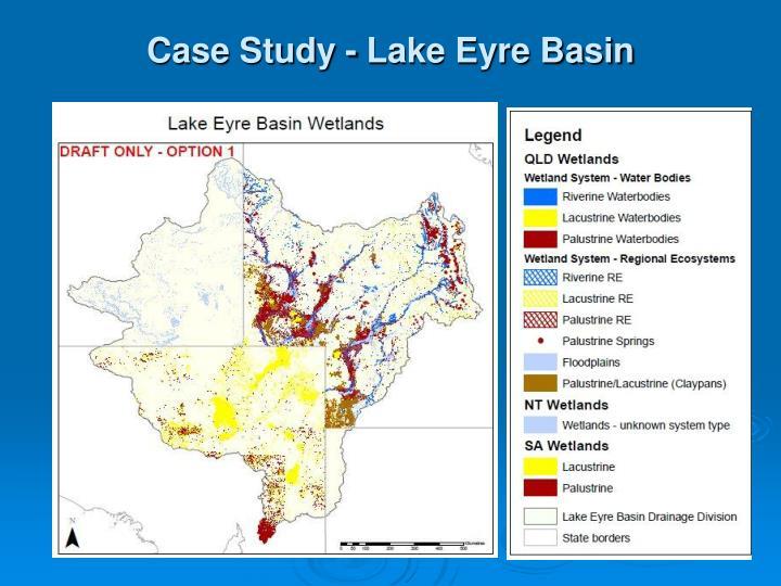 Case Study - Lake Eyre Basin