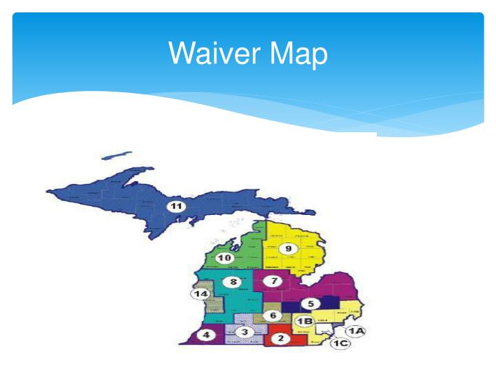 Waiver map