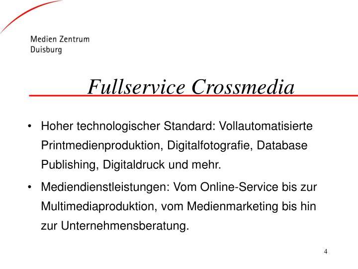 Fullservice Crossmedia