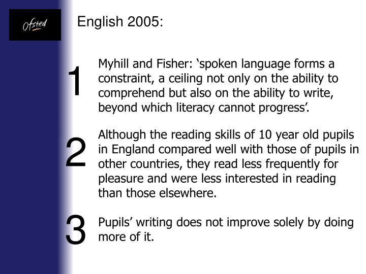 English 2005: