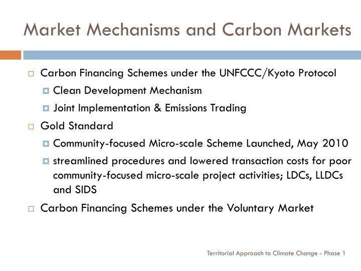 Market Mechanisms and Carbon Markets