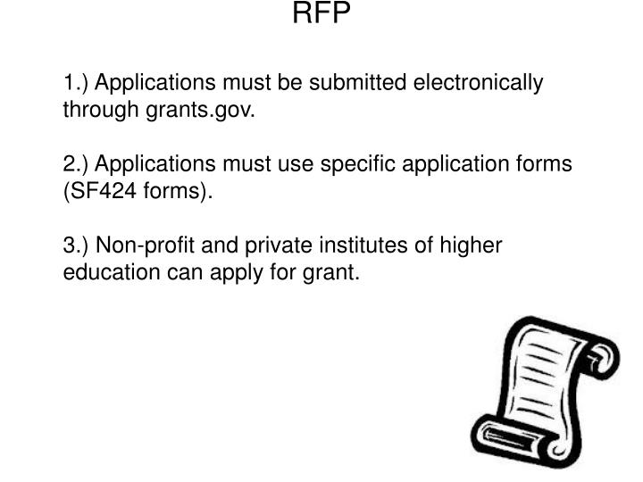 Funder continued : Summation of RFP