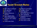 team ground rules