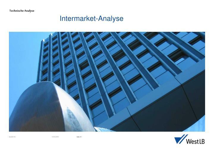 Intermarket analyse