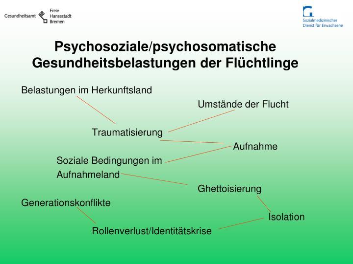 Psychosoziale/psychosomatische