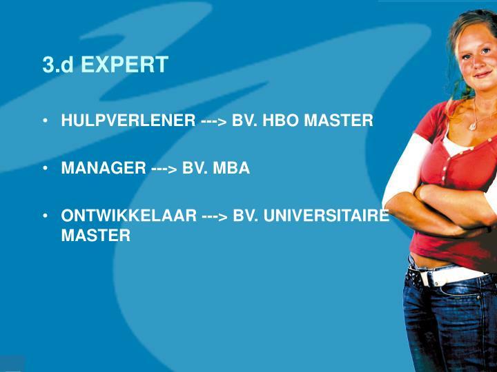 3.d EXPERT