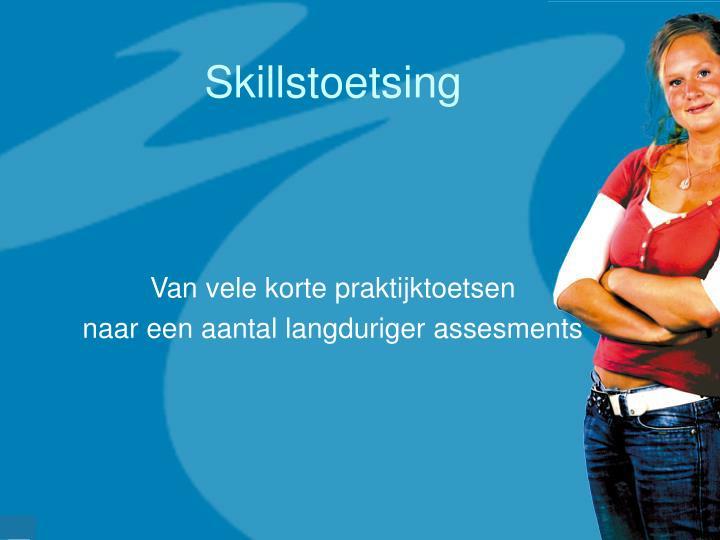 Skillstoetsing