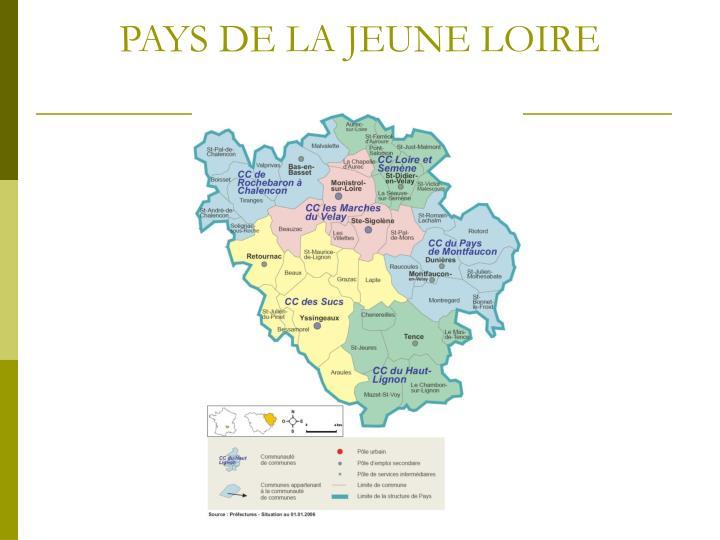 PAYS DE LA JEUNE LOIRE