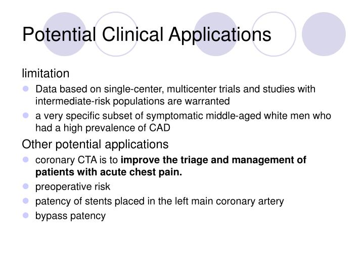 Potential Clinical Applications
