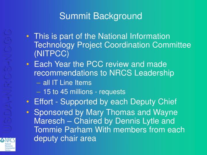 Summit background