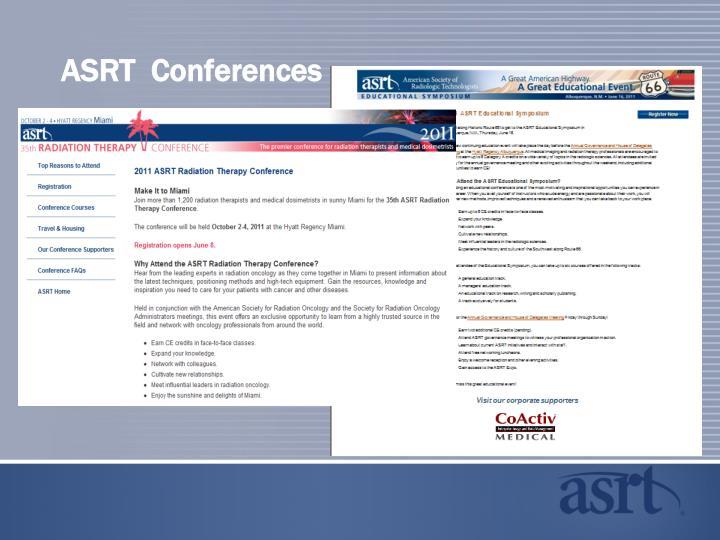 ASRT  Conferences