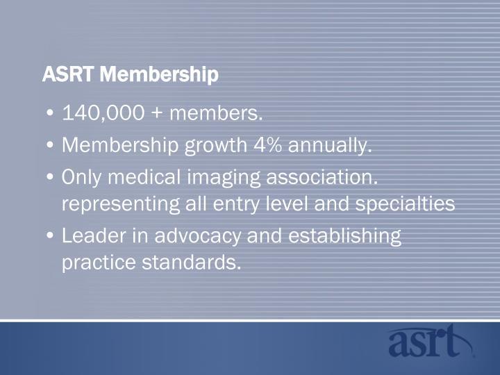 Asrt membership