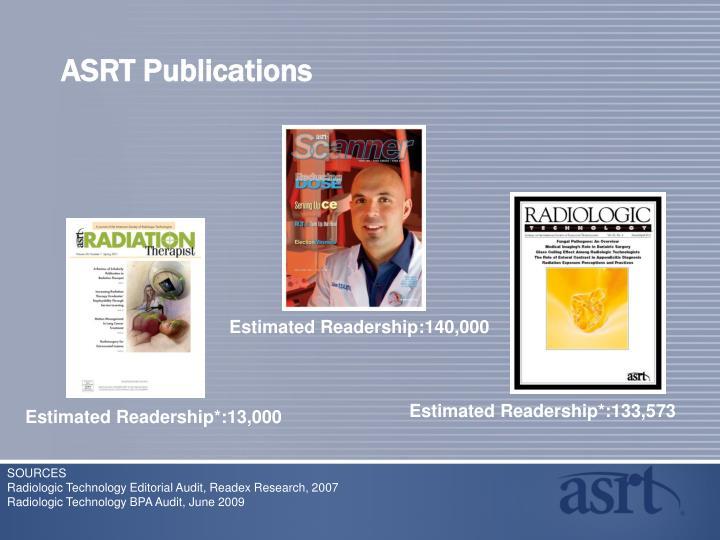 ASRT Publications