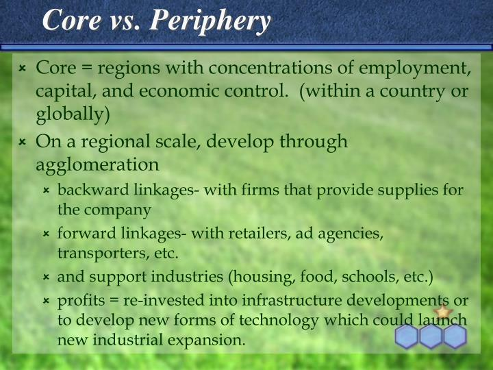 Core vs. Periphery