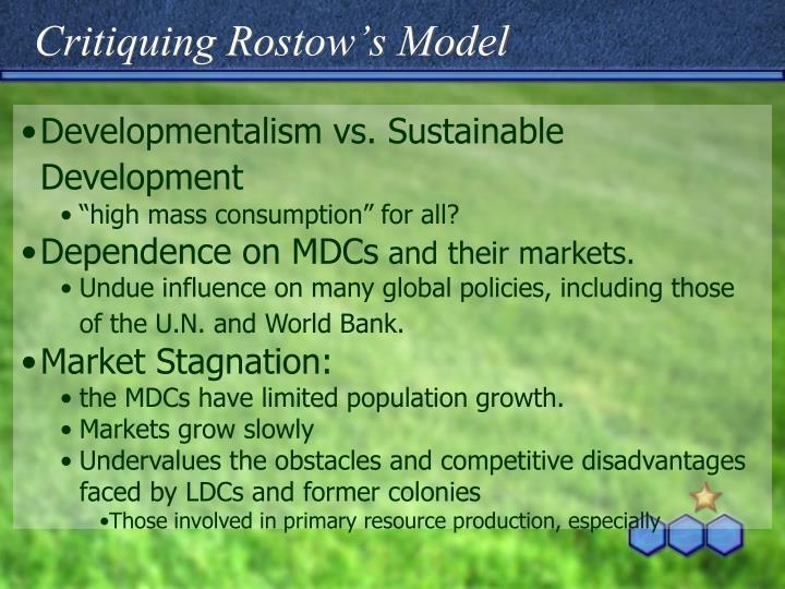 Critiquing Rostow's Model