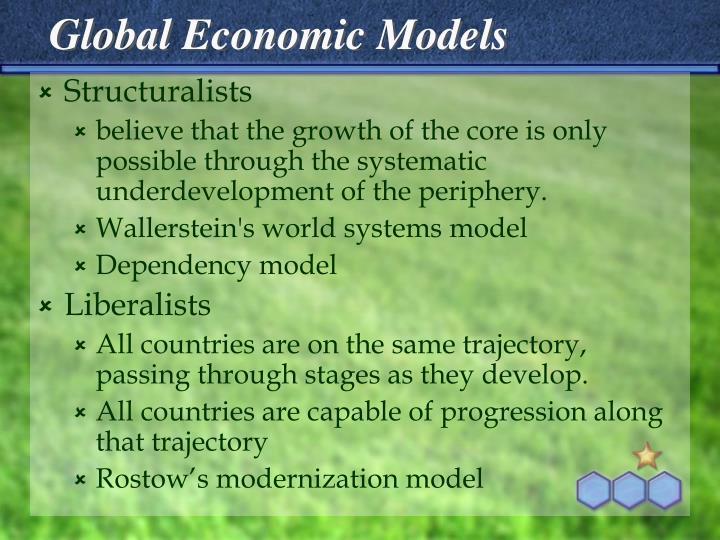 Global Economic Models
