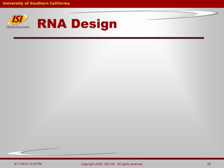 RNA Design