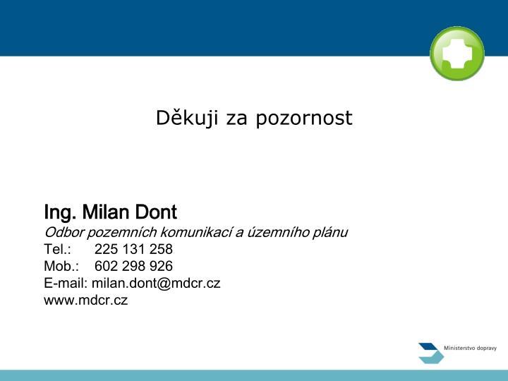 Ing. Milan Dont
