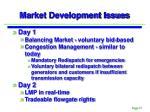 market development issues