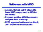 settlement with miso1