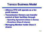 transco business model