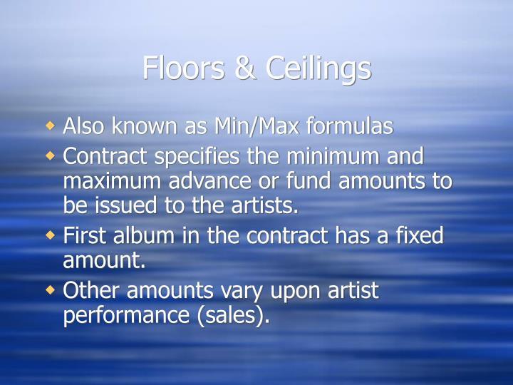 Floors & Ceilings