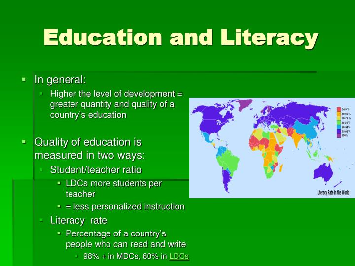 Education and Literacy