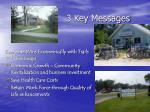 3 key messages1