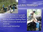 3 key messages2