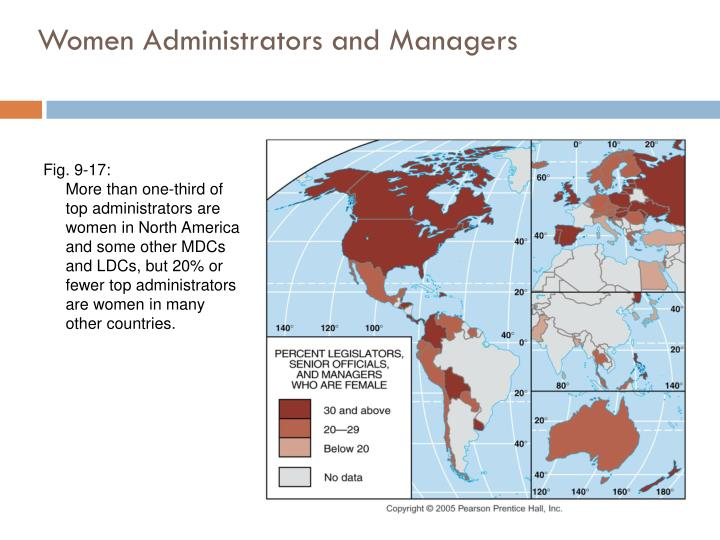 Women Administrators and Managers