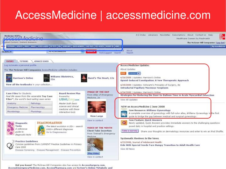 AccessMedicine   accessmedicine.com