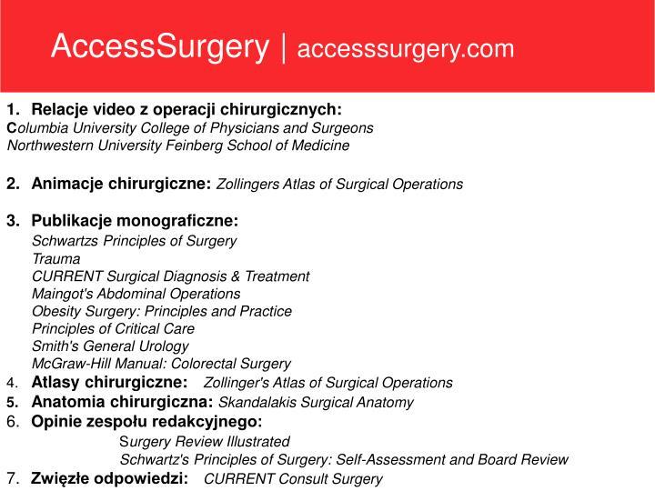 AccessSurgery  