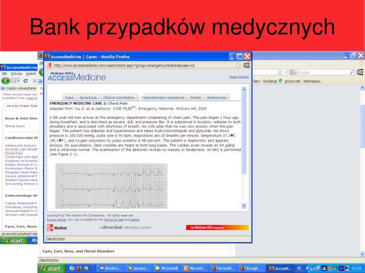 Bank przypadków medycznych