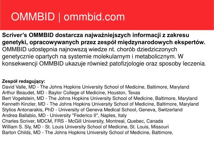 OMMBID   ommbid.com