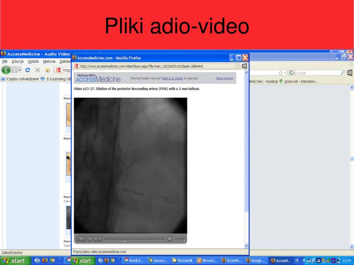 Pliki adio-video