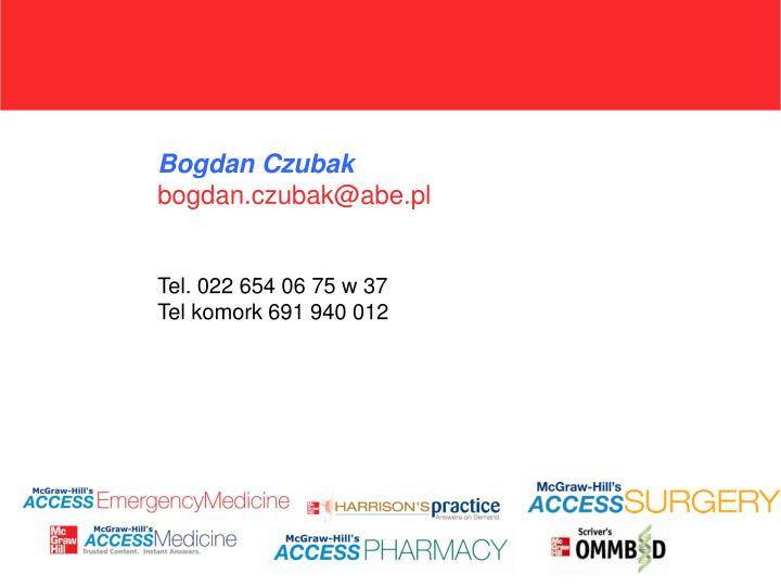 Bogdan Czubak