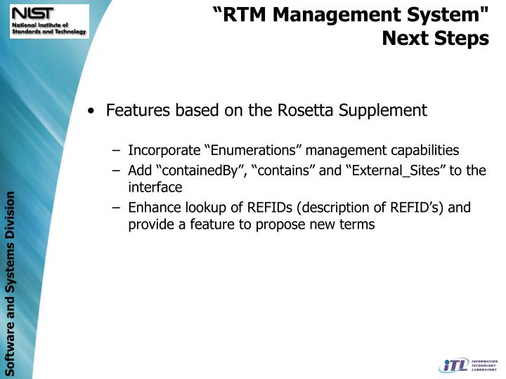 Features based on the Rosetta Supplement