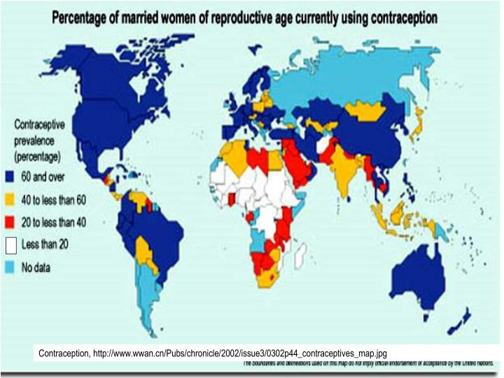 Contraception, http://www.wwan.cn/Pubs/chronicle/2002/issue3/0302p44_contraceptives_map.jpg