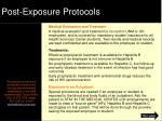 post exposure protocols2