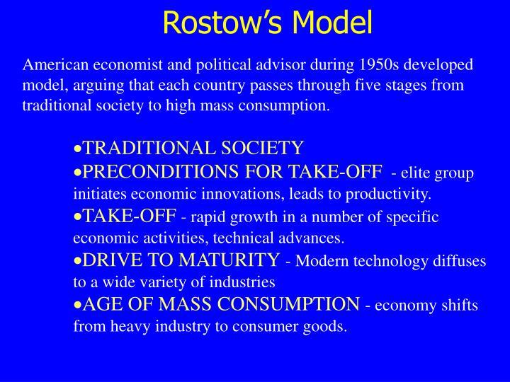 Rostow's Model