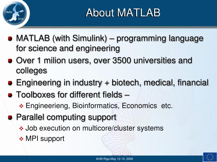 About matlab