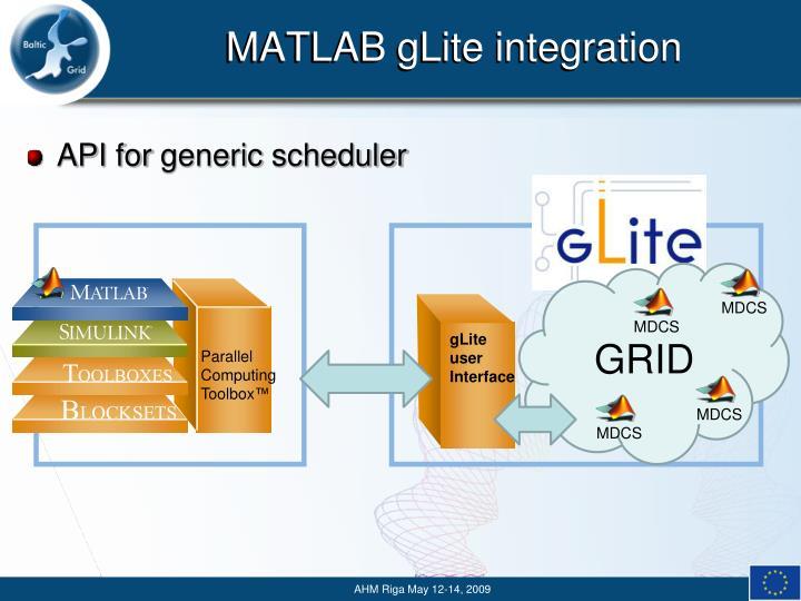 gLite user