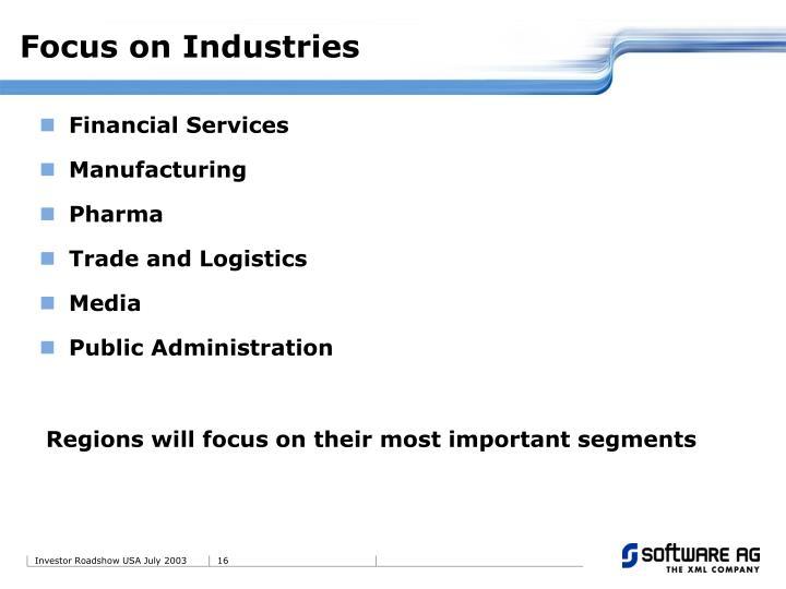 Focus on Industries