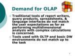 demand for olap2