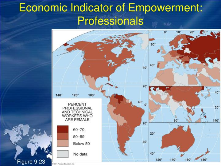 Economic Indicator of Empowerment: Professionals