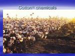 cotton chemicals