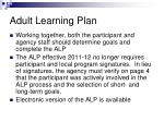 adult learning plan1