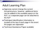 adult learning plan4