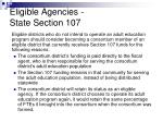eligible agencies state section 1071